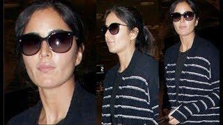 Katrina Kaif Spotted Without Makeup At Airport