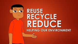Recycling (Cartoon For Kids) Educational Videos for Students Learning Network CN