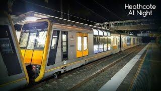 Sydney Trains Vlog 1367: Heathcote At Night