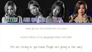 Yezi [FIESTAR] (예지) - Sse Sse Sse (쎄쎄쎄) (ft. Gilme, Ahn Soo Min, & KittiB) [Color Coded/Eng/Han/Rom]