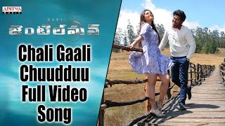 Chali Gaali Chuudduu Full Video Song || Gentleman Video Songs || Nani, Surabhi, Nivetha, ManiSharma