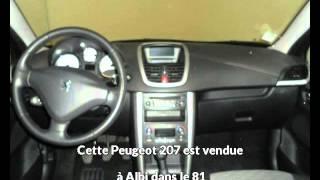 Peugeot 207 occasion visible à Albi présentée par Peugeot gga maurel albi