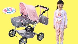 Baby Born Dolls Pram Baby Annbell Bedroom Doll Get Up Little Girl Baby Annabell Shopping Trip