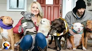 Woman That Saved OVER 100 Dogs, Surprised By SPECIAL Pup | The Dodo
