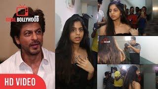 Shahrukh Khan Reaction On Suhana Embarrassment With Media | Suhana Khan | Shahrukh Khan