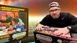 The Unboxing Time Machine - NES 1985