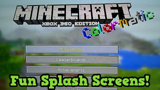 Minecraft - 20 Fun Splash Text