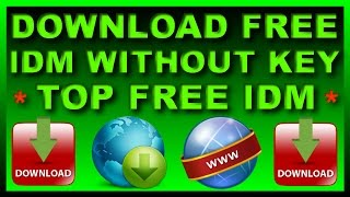 How to Download and Install Free IDM Lifetime?Top FREE Internet Download Manager  in HIndi