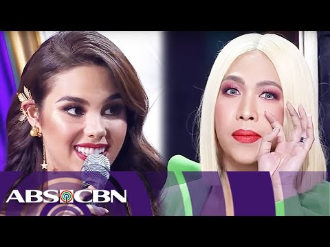 Xxx Mp4 Vice Ganda 39 S Fun Filled Talk With Catriona Gray Miss Universe 2018 Homecoming 3gp Sex
