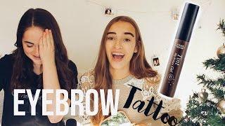 Peel Off Eyebrow Tattoo Review //Hannah