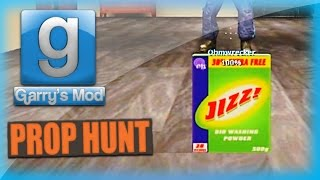 Garry's Mod Prop Hunt Funny Moments - Jizz, Old Man Movie, Happy Balloons, and More!