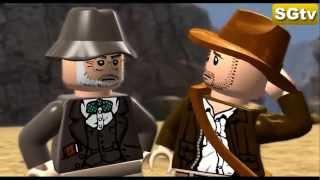 LEGO Indiana Jones Y La Ultima Cruzada Pelicula Completa Español - 720p - Game Movie