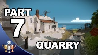 The Witness Walkthrough #7 -  The Quarry Puzzle Solutions (Activating Quarry Laser)
