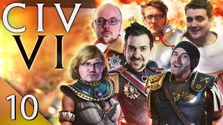 Civ 6 - Warmongers #10 - Little Slap, Little Tickle