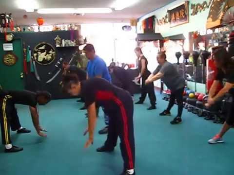 Beginning Kung Fu Class