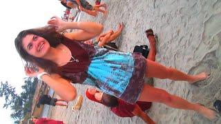 Foreign  Tourists   Enjoying  at   GOA  BEACH .