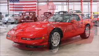 1994 Chevy Corvette Red2