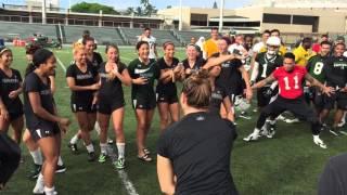Hawaii Football, Women's Soccer Dance-Off