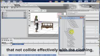 DAZ Studio Tutorial: How to use Dynamic Clothing with aniMate