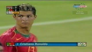 كريستيانو رونالدو ضد المنتخب العراقي