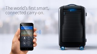 Bluesmart - The World's First Smart Connected Carry-on Suitcase