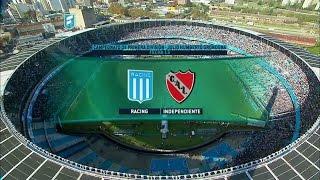 Fútbol en vivo. Racing - Independiente. Fecha 13 del Torneo de Primera División. FPT.