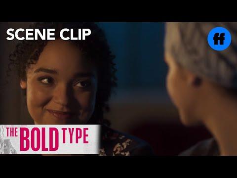 The Bold Type | Season 1, Episode 1: Adena Asks Kat About Her Sexual Orientation | Freeform