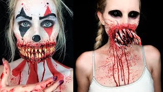 ✦Scary Special Effects Makeup 2018 | Halloween SFX Makeup Tutorials