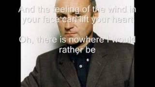 Phil Collins  On My Way With Lyrics