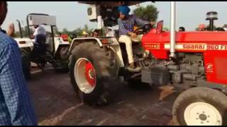 SWARAJ 960NEW VS NEWHOLLAND FORD 3630 TRACTOR TOCHEN