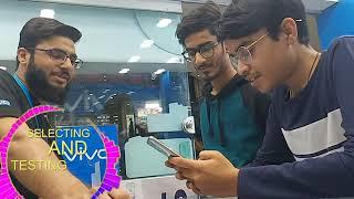 Phone buying vlog