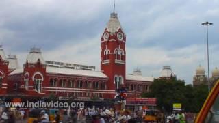 Chennai Central Railway Station  Madras Tamil Nadu