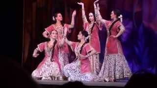 India meets Georgia - Kathak fusion by Svetlana Tulasi & Chakkar group