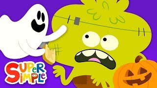 Down By The Spooky Bay | Halloween Song for Kids | Super Simple Songs