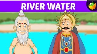 River Water | Tenali Raman In English | Animated Stories For Kids