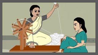 Thakurmar Jhuli | Teen Pishir Kando | Thakumar Jhuli Cartoon | Bengali Stories For Children | Part 1