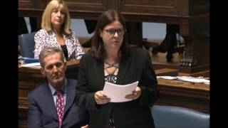 Minister Stefanson introduces the Elections Amendment Act