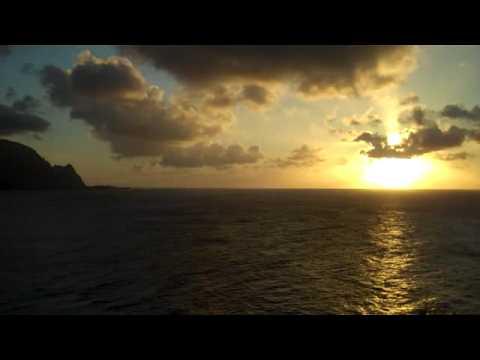Princeville, Kauai - Pali Ke Kua Bali Hai Sunset