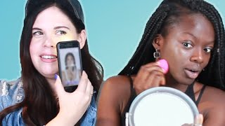 We Try Customized Foundation With An App