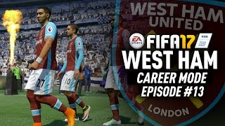OUR FIRST CUP FINAL!!! FIFA 17 West Ham Career Mode #13