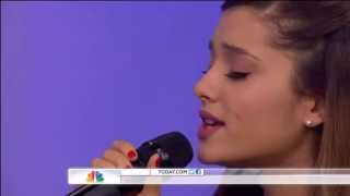 ♥ Ariana Grande ♥ on Today Show ♥ The Way Live HD (Acoustic version)