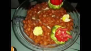 آموزش خوشمزه ترين خوراك لوبيا ايراني (پروانه جوادي ) خواهر جوادجوادي