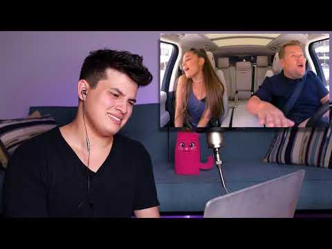 Vocal Coach Reaction to Ariana Grande's Carpool Karaoke