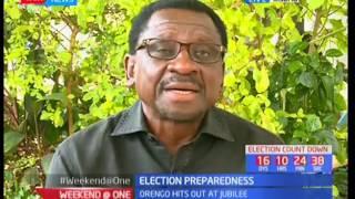 Senator James Orengo reacts to Interior CS Matiang'i's declaration for adopt-a-polling station