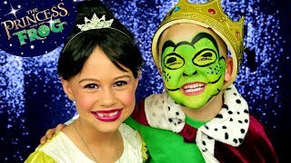 The Princess and The Frog: Tiana and Frog Makeup and Costumes