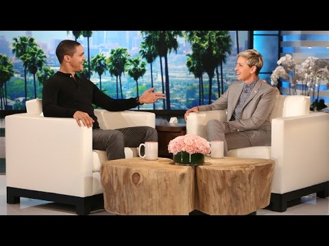 The Daily Show Host Trevor Noah Meets Ellen
