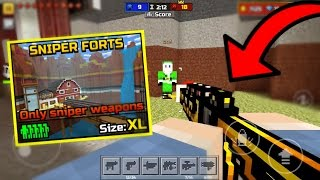 How To Use ANY Guns in Sniper Forts GLITCH! (12.0.1) Pixel Gun 3D