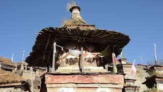 Nar Village Off the Annapurna Circuit in Nar Phu
