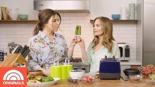 Matcha Ice Pop Recipe For Rejuvenating Skin | Skin Care A-to-Z | TODAY