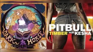 Timber Horse | Pitbull feat. Kesha & Katy Perry feat. Juicy J Mashup!